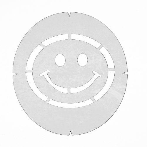 Smiley Face Stencil
