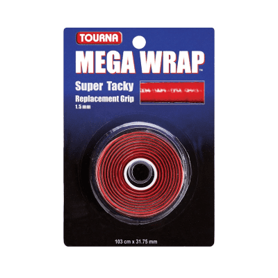 Tourna Mega Wrap Replacement Grip –Red