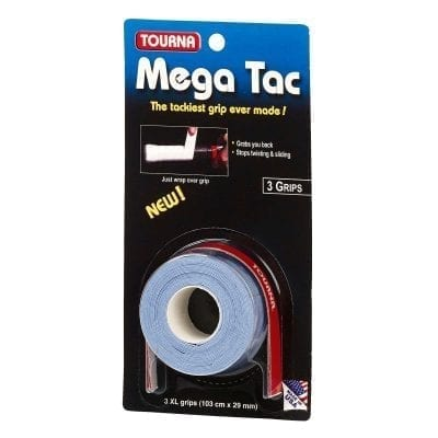 mega tac 3 grip blue