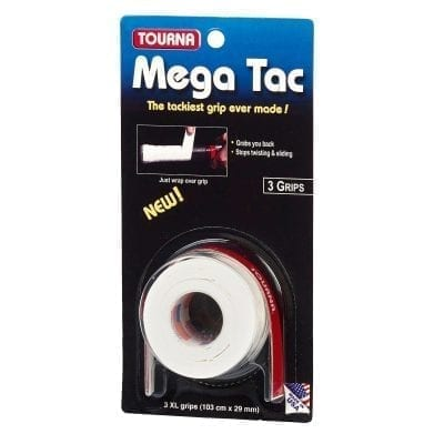 mega tac 3 grip white